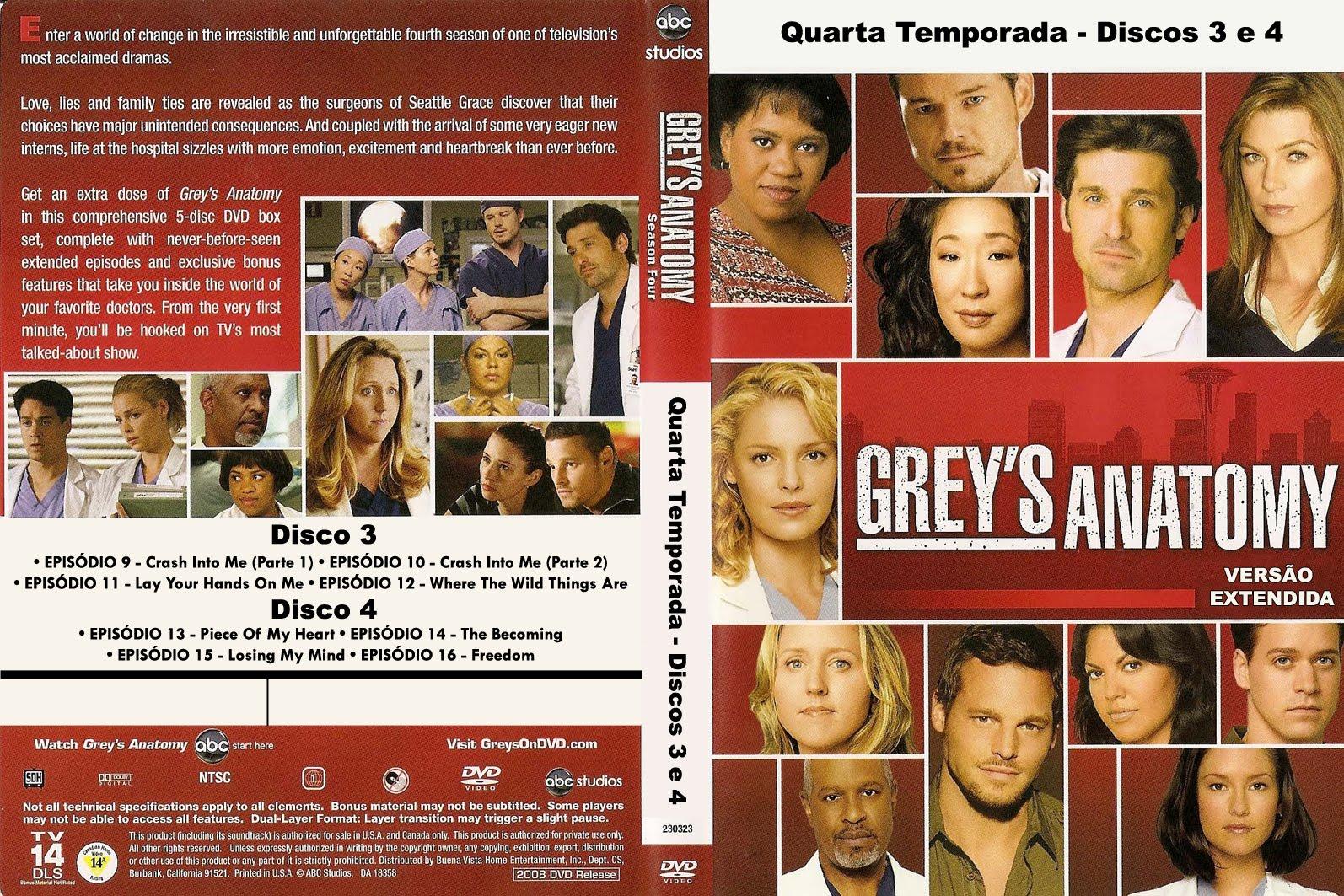 Grey s anatomy dvd