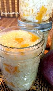Vegan Mango Coconut Tapioca Pudding