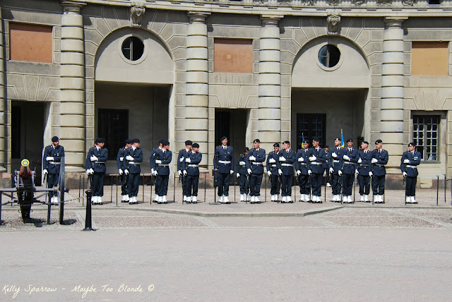 Changing of the Royal Guard Stockholm Sweden