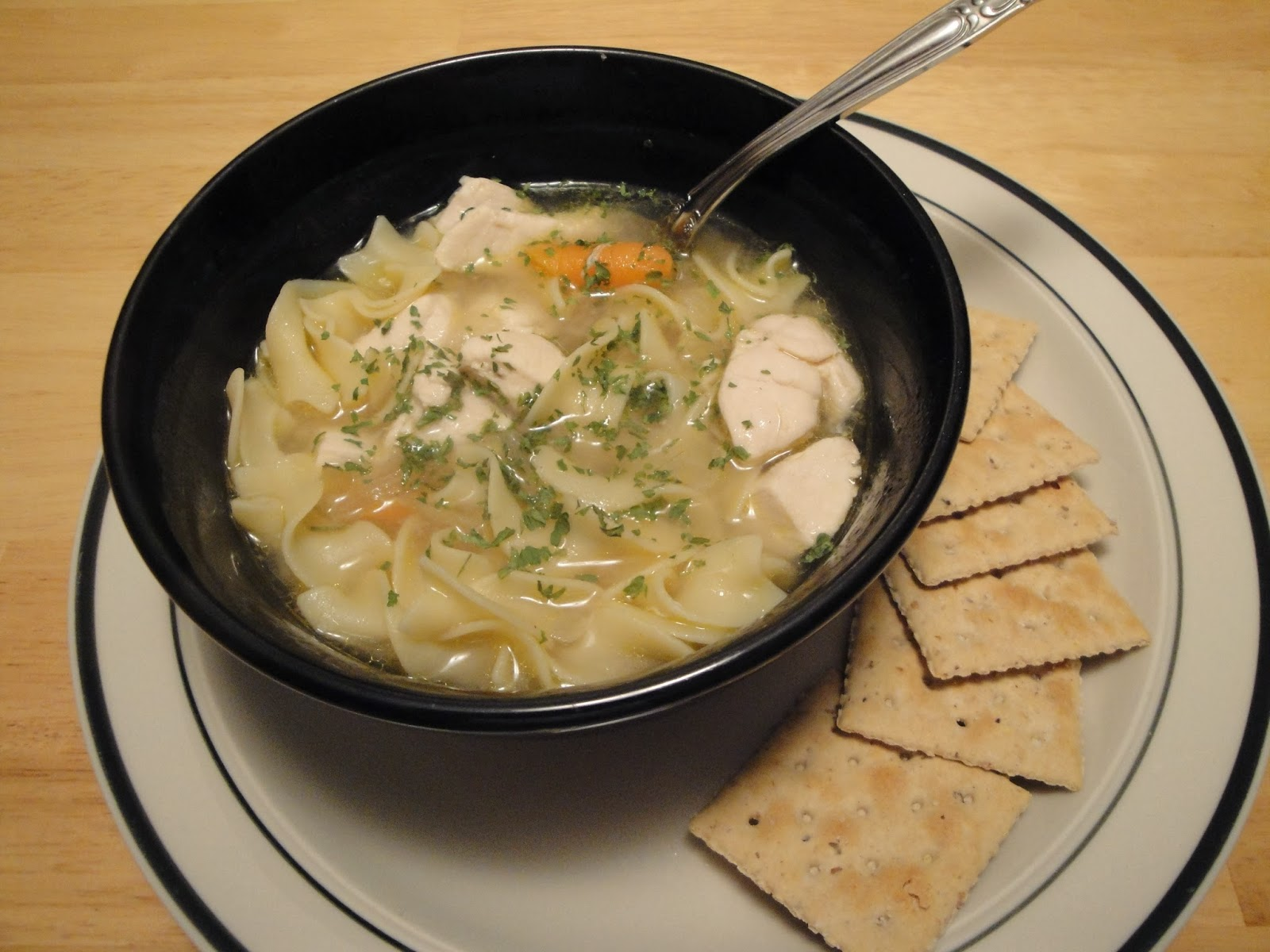 Christine's Pantry: Quick Chicken Noodle Soup
