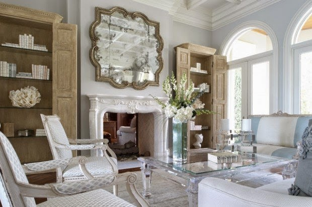 17 Beautiful Living Room Decorating Ideas With Wall Mirrors ...
