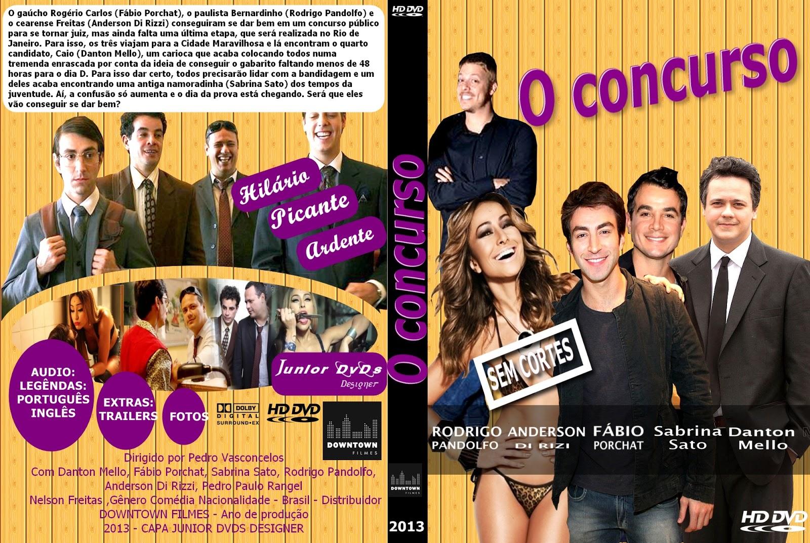 Capa Filme - O Concurso (J.Dvds)