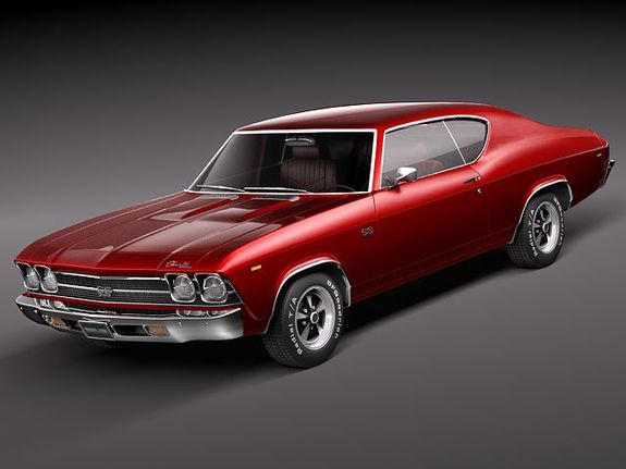 69 Chevelle SS 396 Welly (2011)