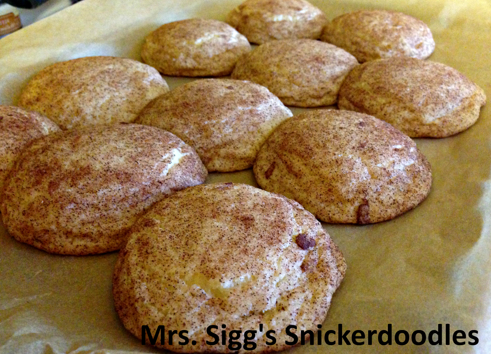 Mrs. Sigg's Snickerdoodles recipe ~ Easy Recipes