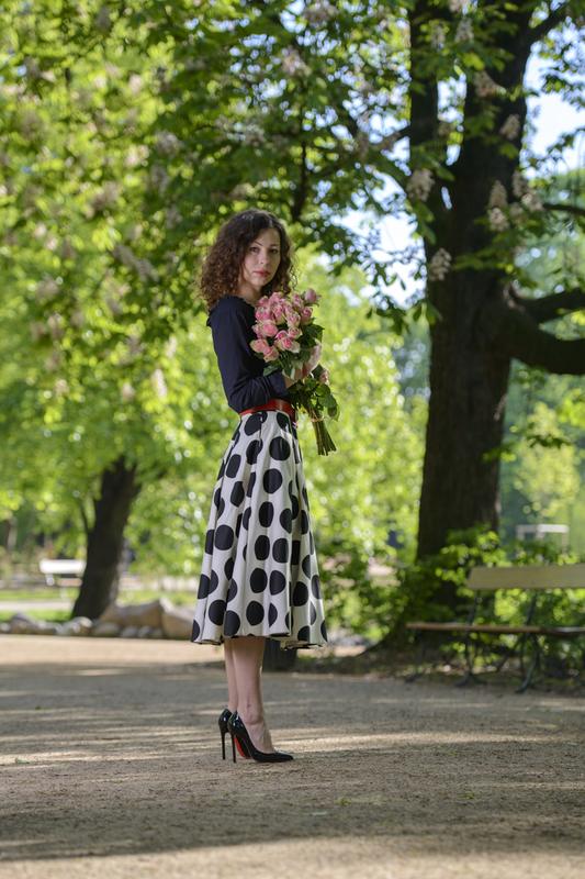 spódnica w grochy mohito fashionblog