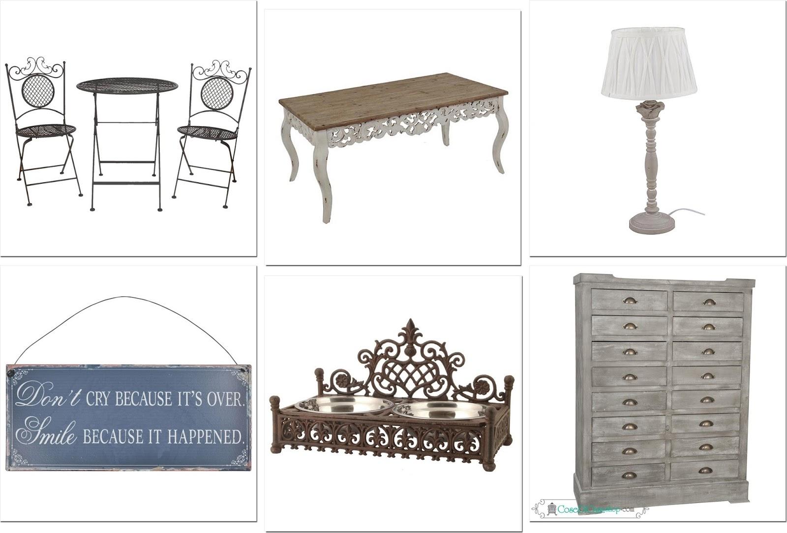 Voglia di shopping arriva lo sconto shabby chic interiors - Cose di casa shop ...