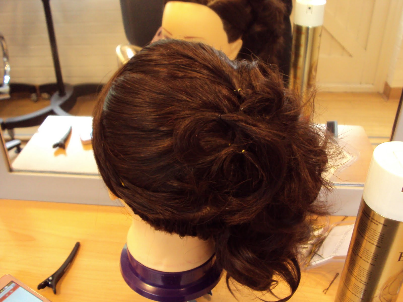 Hair put ups pictures Hair Salon Images, Stock Photos Vectors Shutterstock