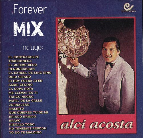 Album EXITOS DE SIEMPRE - Alci Acosta en fox-musicagratiscom