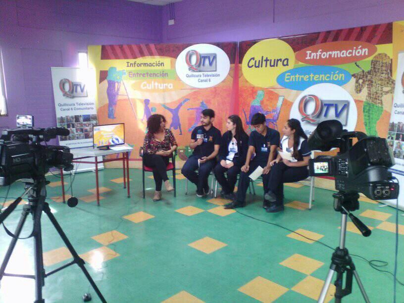 Escuela de Enfermería de la USACH y Quilicura TV realizan programa de Enfermería Comunitaria