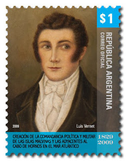 Louis Vernet (stamp)