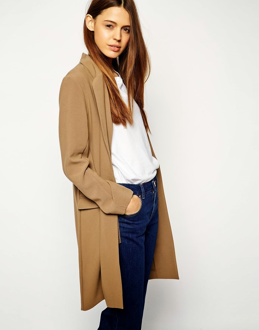 long camel blazer