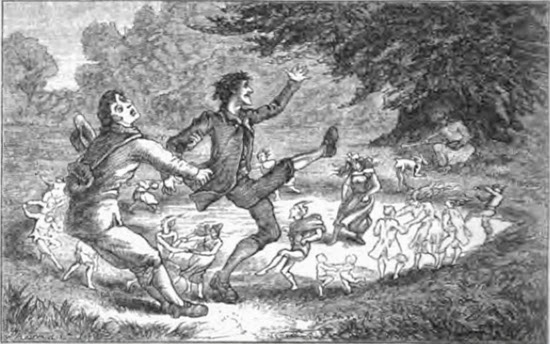fairy Circle by T.H. Thomas, taken from British Goblins