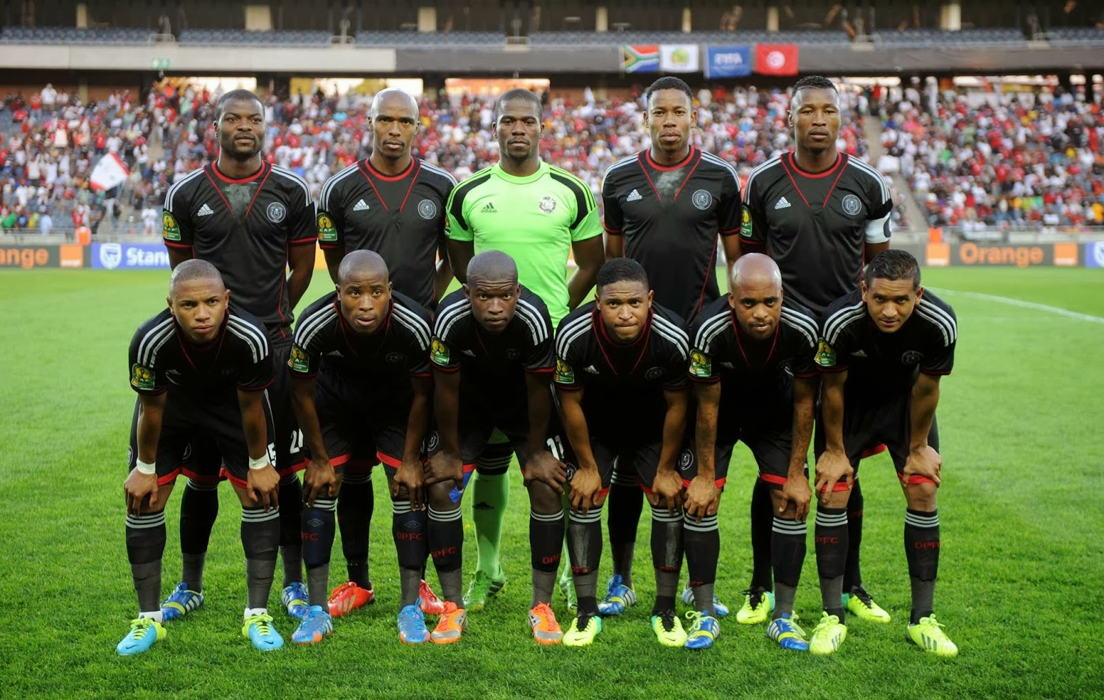 Orlando Pirates are representing South Africa | DISKIOFF