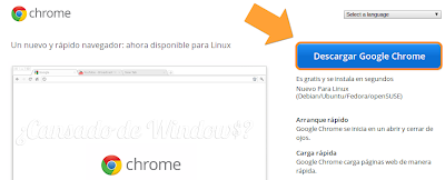 Descargar Google Chrome en Ubuntu