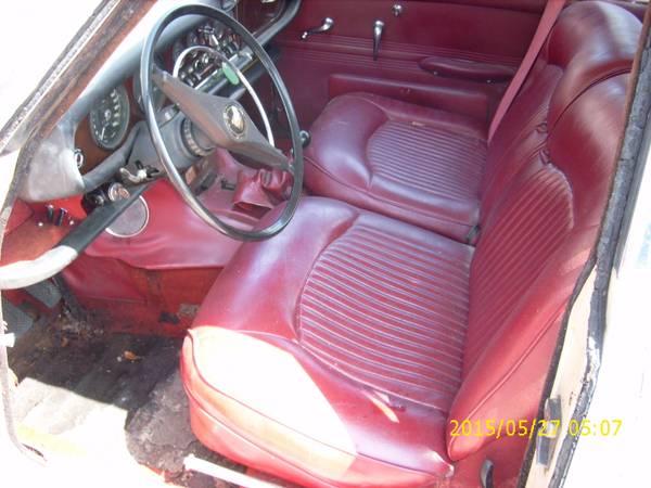 restoration project cars rare 1967 jaguar 4200 sedan project. Black Bedroom Furniture Sets. Home Design Ideas