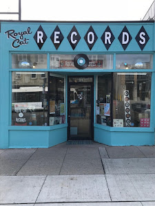 Royal Cat Record Store in Guelph