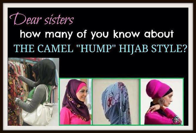 Camel Hump Hijab Style Is Haram