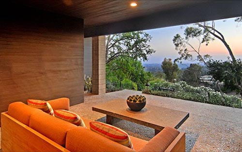 Interior design of mid century contemporary home in canna for Mid century modern architecture los angeles
