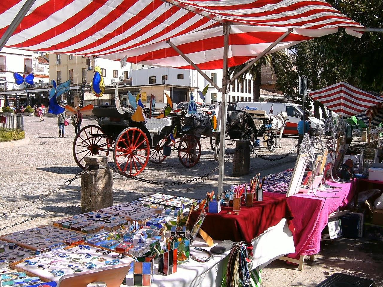 Mercado en Ronda (Málaga) de nuevo