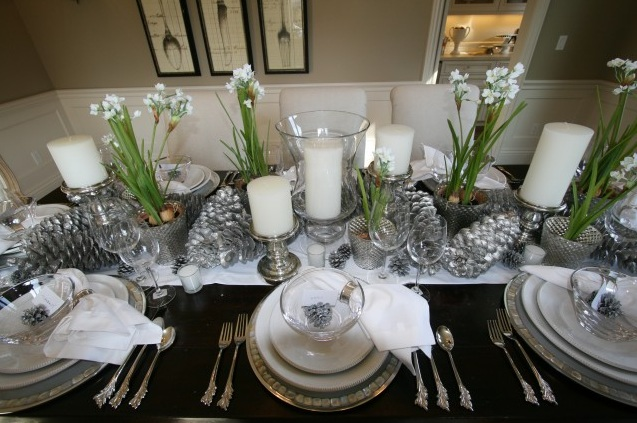 Holiday Table Decorations Rousseaus