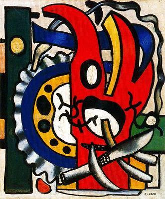 Composició amb ganivet (Fernand Léger)
