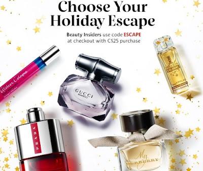 Sephora Free Holiday Fragrance Promo Code