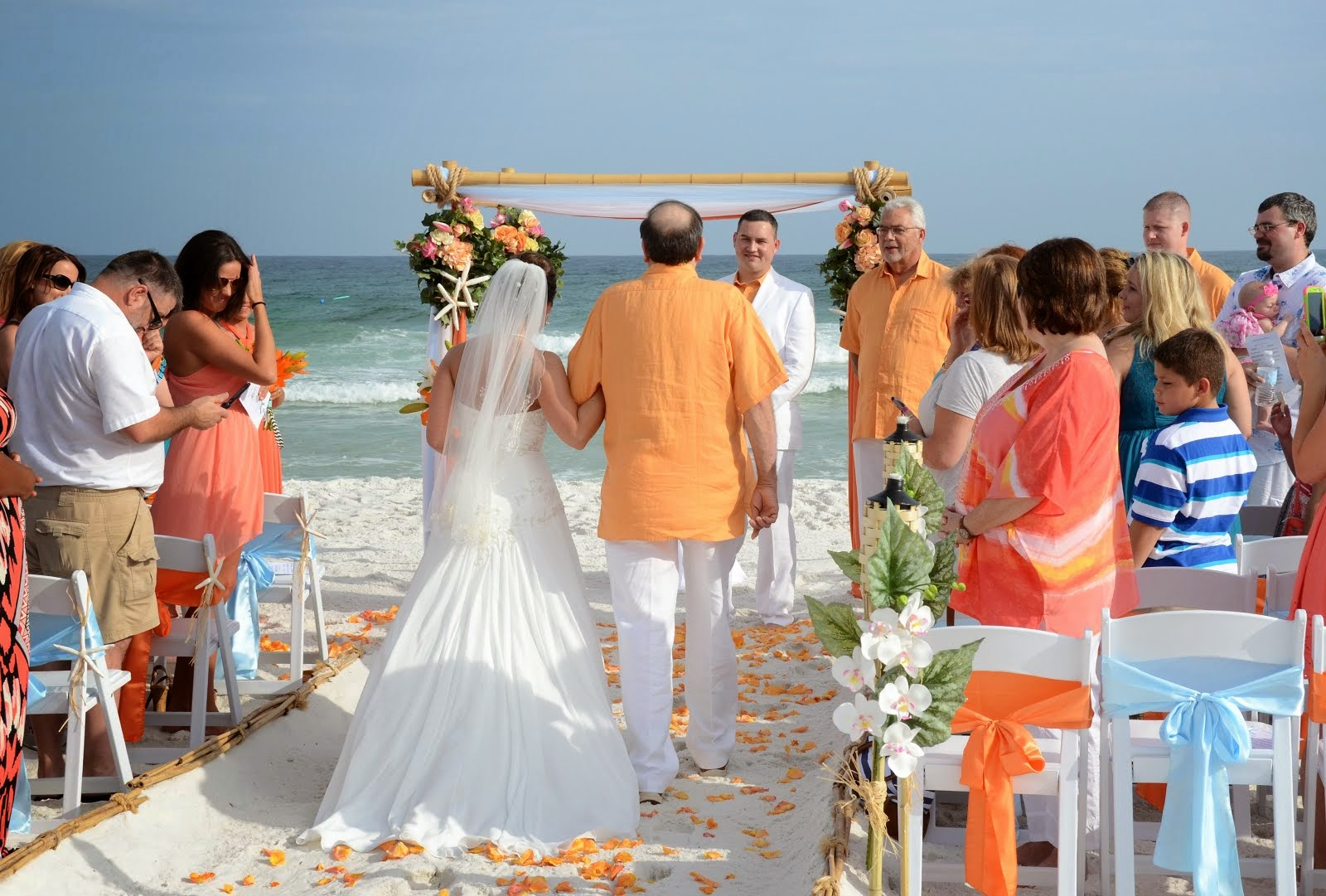Sunset Beach Weddings Florida Beach Wedding Escorting