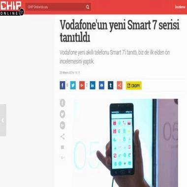 chip com tr - vodafone'un yeni smart 7 serisi tanıtıldı