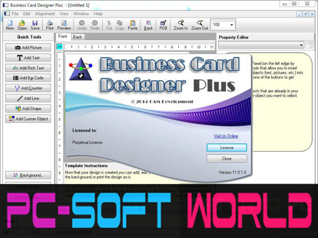 Business card designer plus portable free download pc soft world business card designer plus portable free download reheart Images