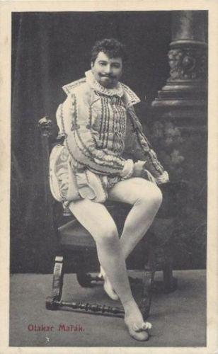 CZECH TENOR OTAKAR MAŘÁK (1872-1939) CD