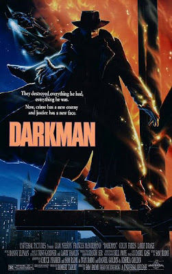 Official movie poster for Darkman