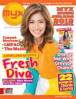 Angeline Quinto MYX Magazine June 2012