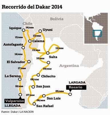 Rally Dakar 2014: comenzó la gran fiesta en Rosario con la largada simbólica ante una multitud Dakar-1821187