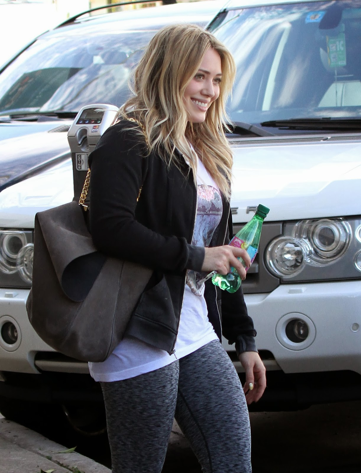 Hilary Duff Leggings Ass