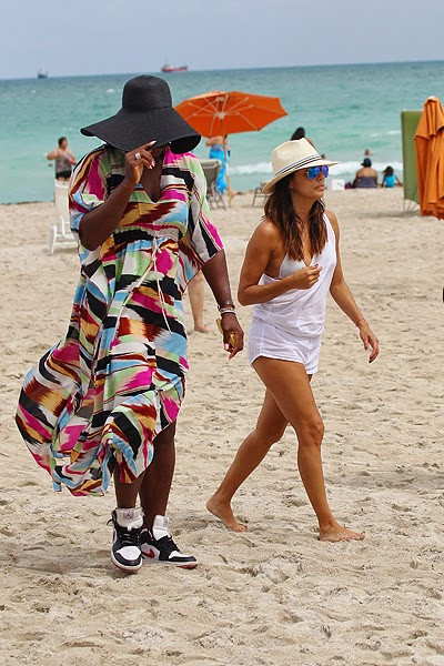 Eva Longoria and Serena Williams in Miami