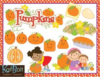 https://www.teacherspayteachers.com/Product/Pumpkin-Clip-Art-1369197