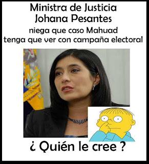 Johana Pesántes - Corrupicón Ecuador