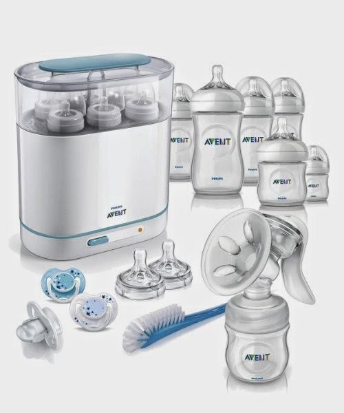 steps on how to use avent steriliser
