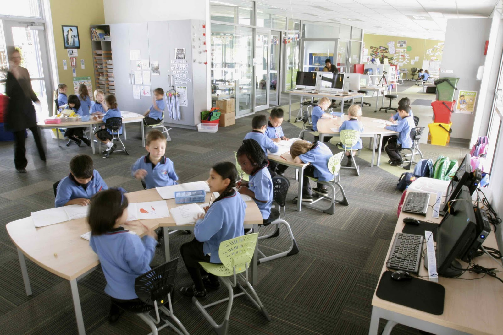 Collaborative Work Classroom ~ Open learning spaces october