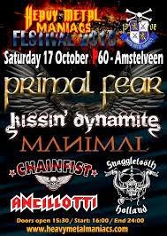 HEAVY METAL MENIACS FESTIVAL 2015