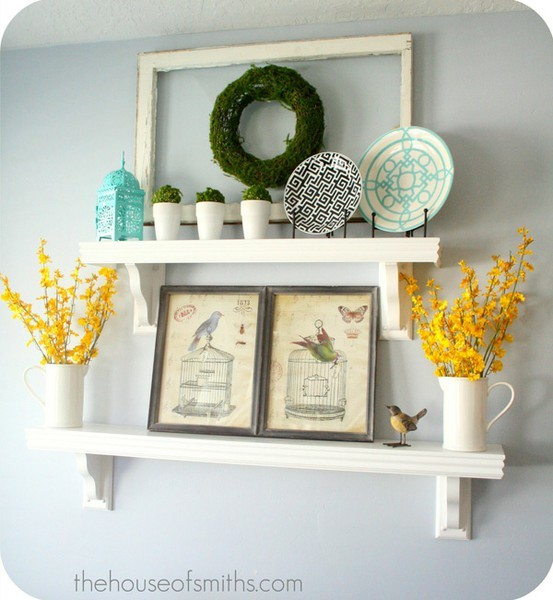 Creative Kitchen Wall Decor: The Green Bungalow: Creative Ways To Hide A Thermostat