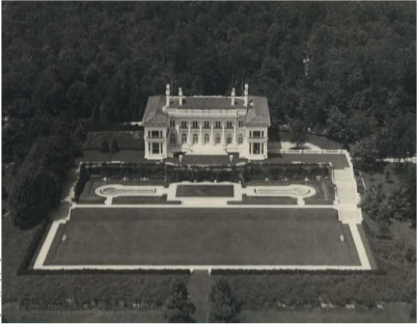 An Aerial Of Spring Hill Originally The William L Stow Estate Designed By John Russell Pope C 1903 In Old Westbury And For Many Years Owned Henry