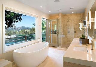 Kamar mandi minimalis adalah