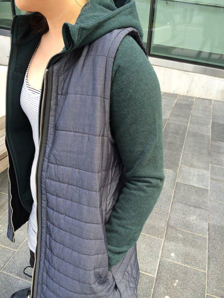 lululemon everything she wants vest quilt