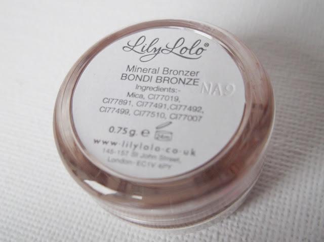 lily lolo bondi bronze