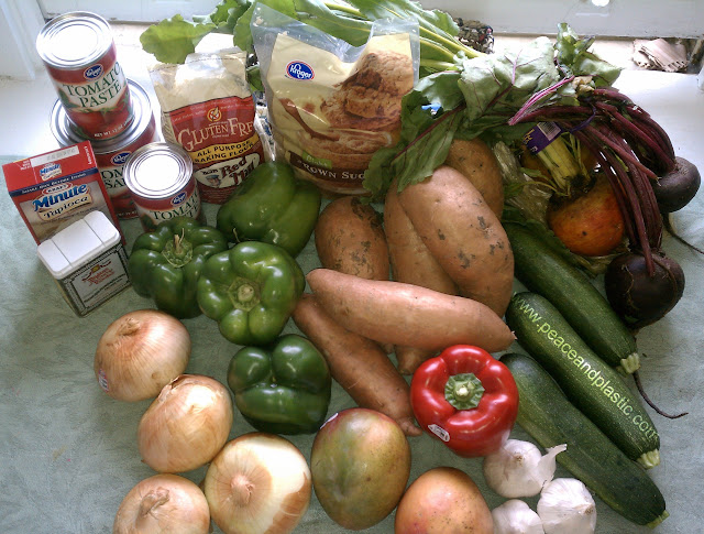 Fruits and Vegetables for Freezer and Crockpot Recipes