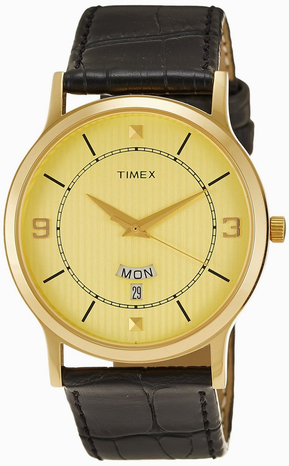 Amazon: Buy Timex Analog Beige Dial Men's Watch – TI000R419 at Rs.999 | Lowest Online