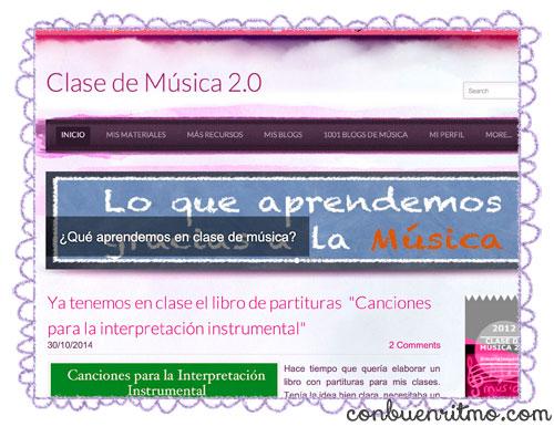 A musical resources blog for the Secondary Education level: María Jesús Camino Rentería