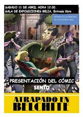 Un cómic: 'Atrapado en Belchite' de Sento