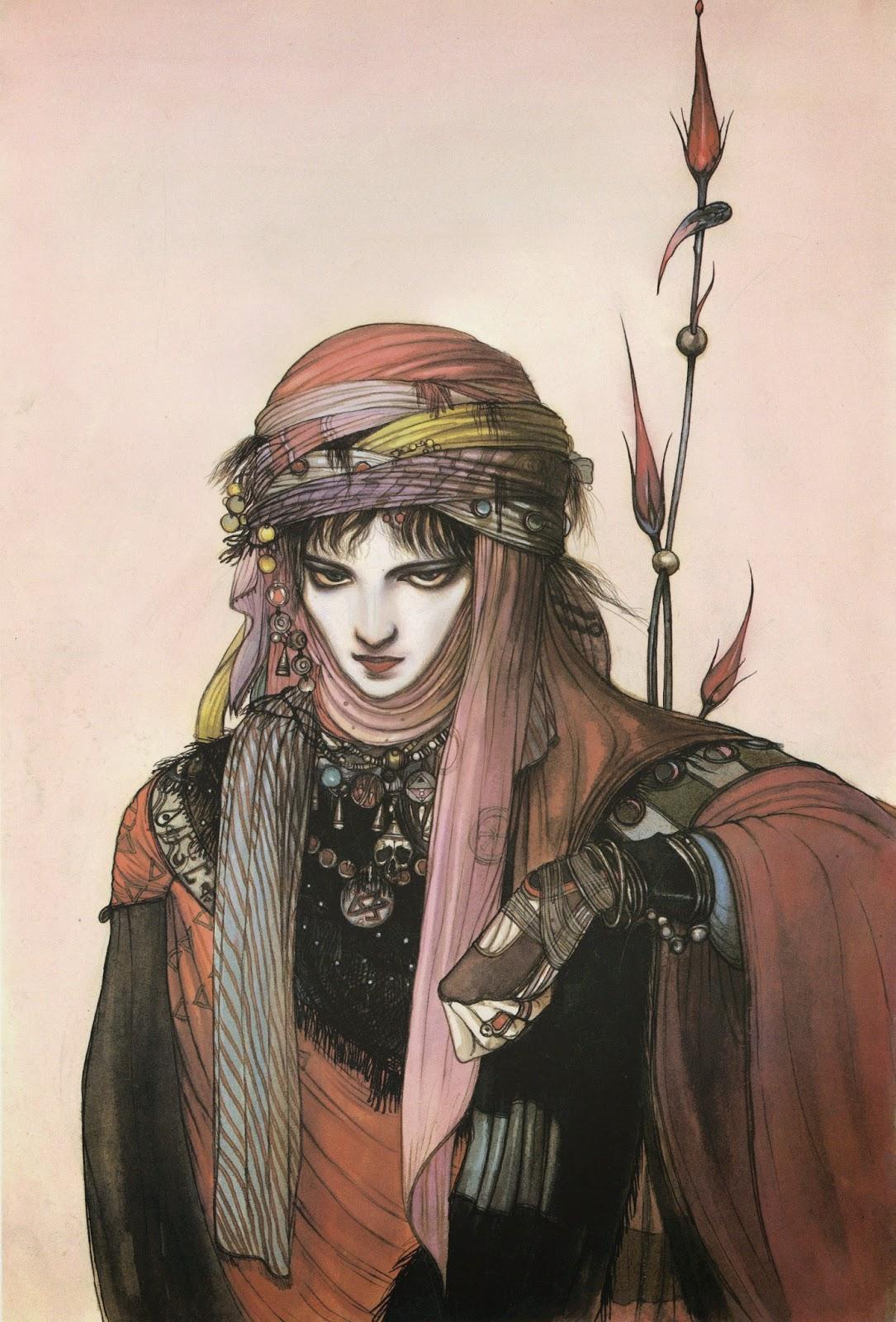Yoshitaka Amano |illustrator